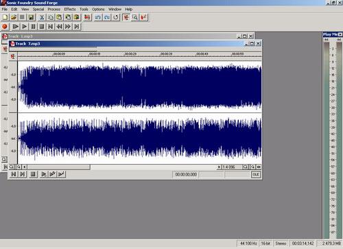 Программа записи звука Sound-Forge