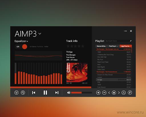 AIMP3 красивый скин
